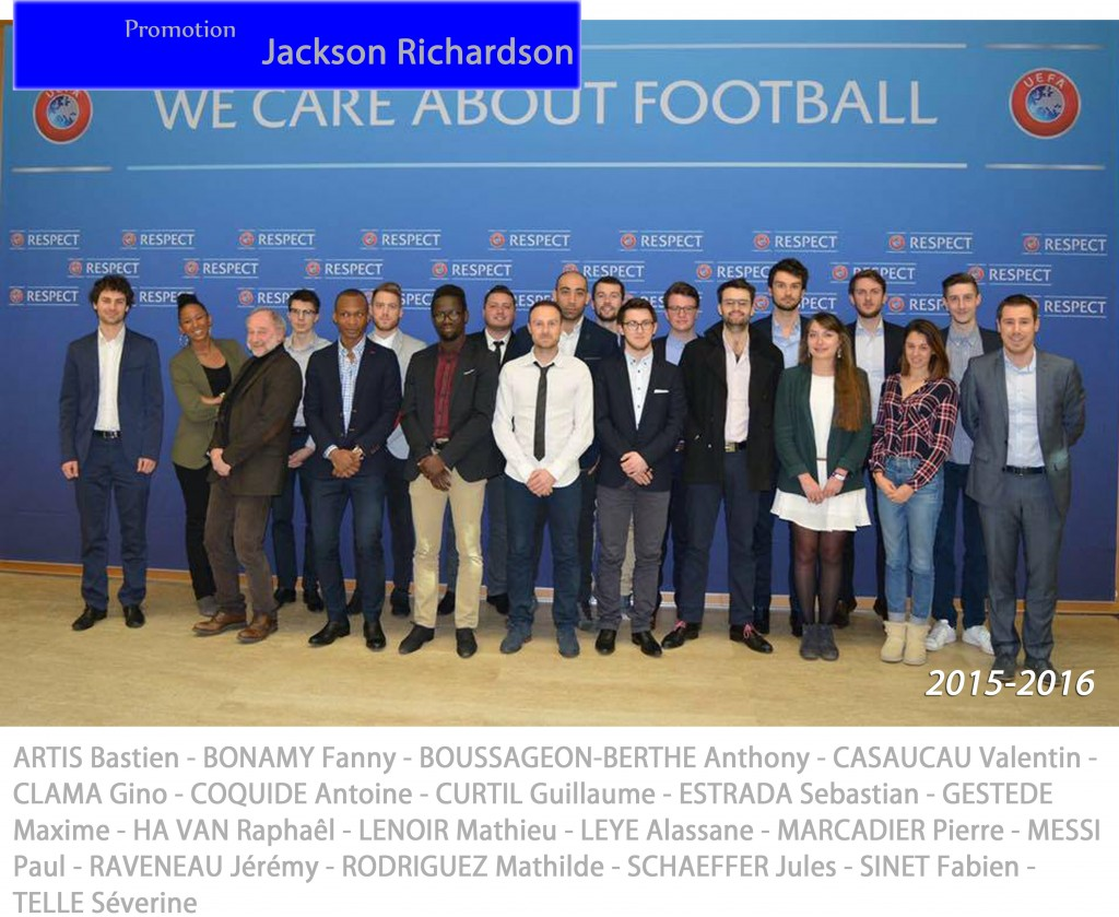 Universite de Bourgogne Visit to UEFA