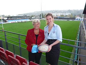 Julie Huchet, Directrice administrative et financière de la SAS CSBJ Rugby