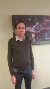 Yves Thouilleux, Juriste à la Fédération Française de Rugby à XIII