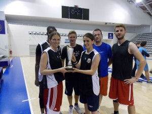 Lex Sportiva remporte le Tournoi de basket mixte