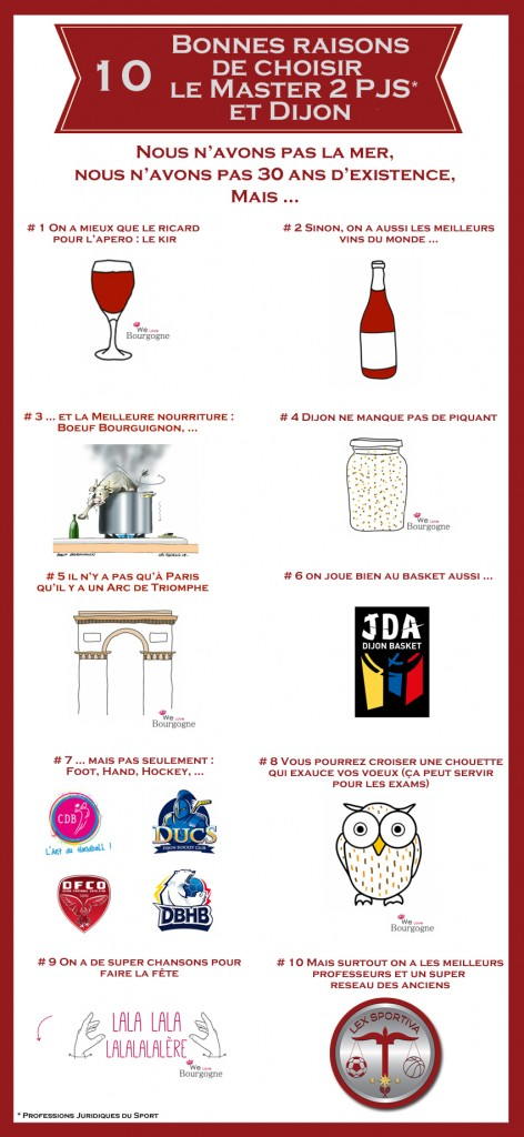 10 bonnes raisons choix PJS