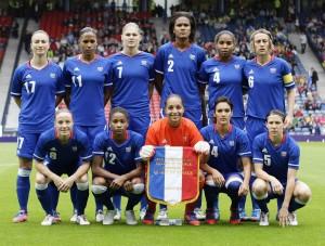 Jeux Olympiques de Londres 2012 - Equipe de France Féminine