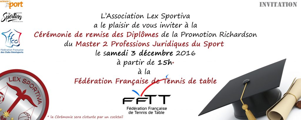 Association lex sportiva week end de fin d 39 ann e - Federation francaise de tennis de table ...